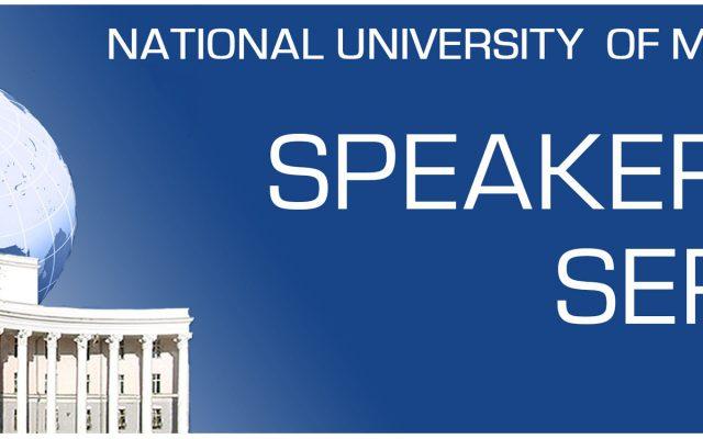 NUM SPEAKER SERIES-ийн ээлжит зочноор ШУС-ийн Нийгмийн Ухааны Салбарын  багш, доктор С.Дөлбадрах  оролцоно