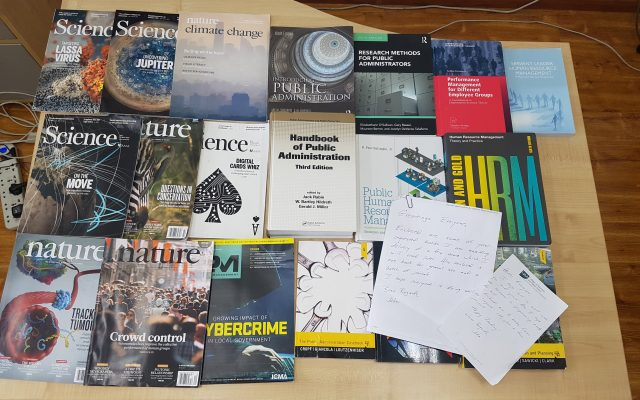 Another book donation from Prof. Dr. John Duffy