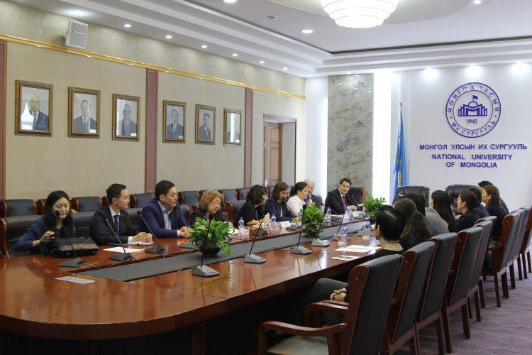 МУИС: ХБНГУ-ын Холбооны Хөдөлмөрийн Агентлагийн Их Сургуультай Хамтын ажиллагааны гэрээ үзэглэлээ