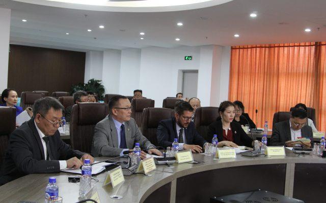 """""""Монгол Улсаас БНКУ-тай биотехнологийн салбарт хамтын ажиллагаа хөгжүүлэх чиглэлүүд"""" хэлэлцүүлэг боллоо"""