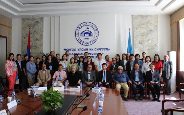 """""""Монгол хэл, утга зохиол судлал"""" олон улсын эрдэм шинжилгээний хурал боллоо"""
