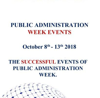 Public Administration week events successfully completed