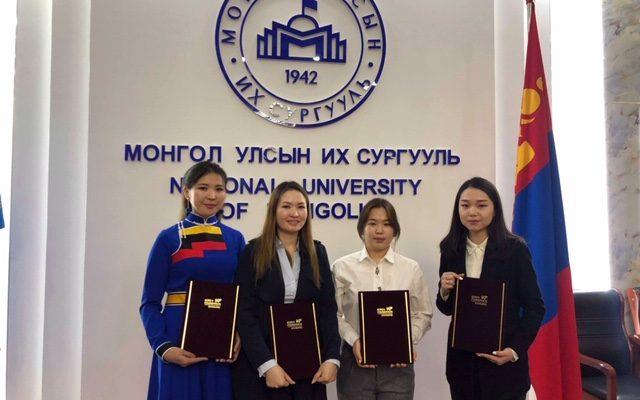 Солонгос судлалын магистрант, докторантуудСолонгос сангийн тэтгэлэгт хамрагдав