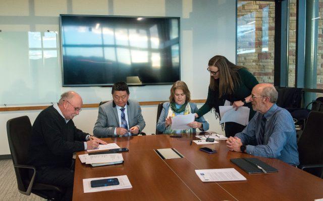 МУИС, АНУ-ын Колорадогийн их сургуулийн хооронд судалгаа, боловсролын хамтын ажиллагааны гэрээ байгууллаа