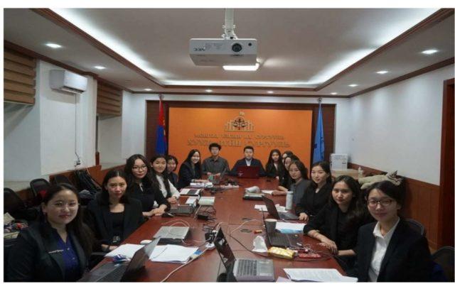 МУИС-ийн ХЗС-ийн баг 19 дэх удаагийн олон улсын арилжааны арбитр, хэлэлцээрийн тэмцээнд амжилттай оролцлоо