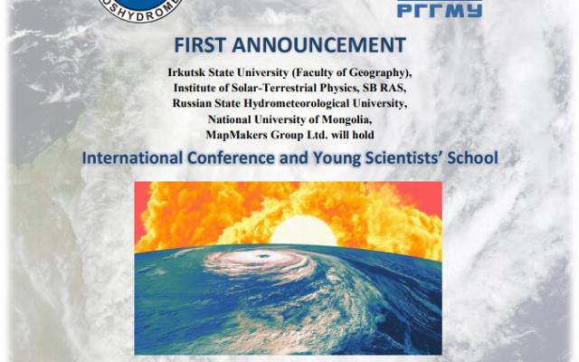 """""""CLIMATE RISKS AND SPACE WEATHER"""" Олон улсын эрдэм шинжилгээний хуралд оролцохыг урьж байна"""
